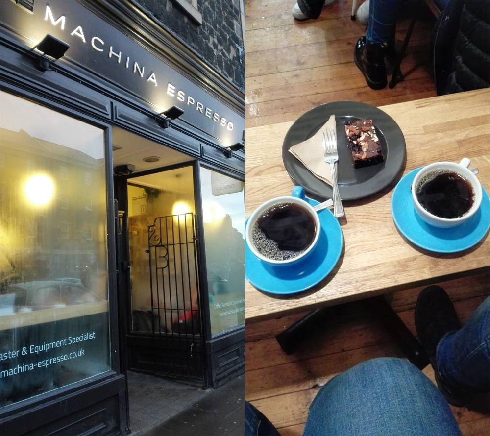Machina Espresso Edinburgh