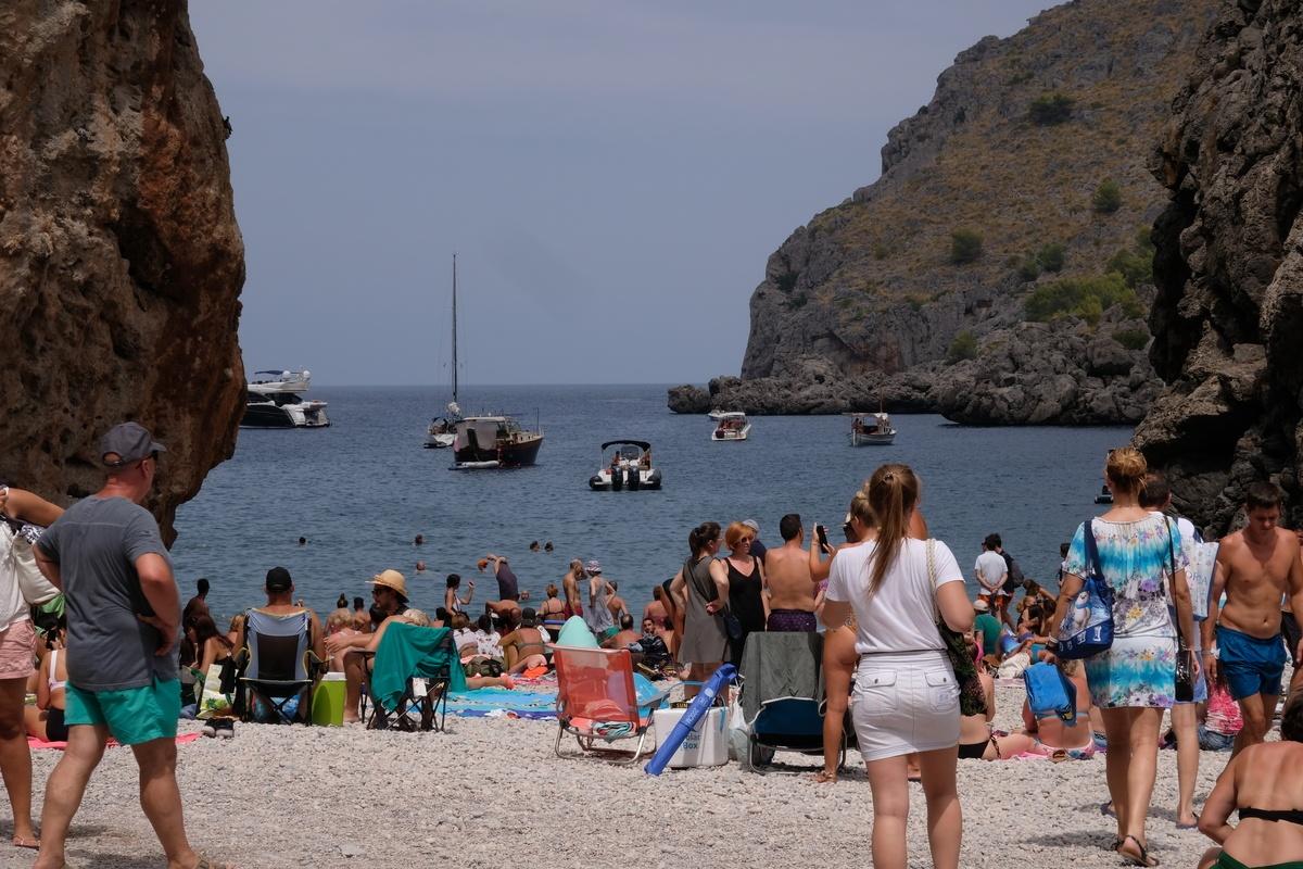 Sa Calobra beach