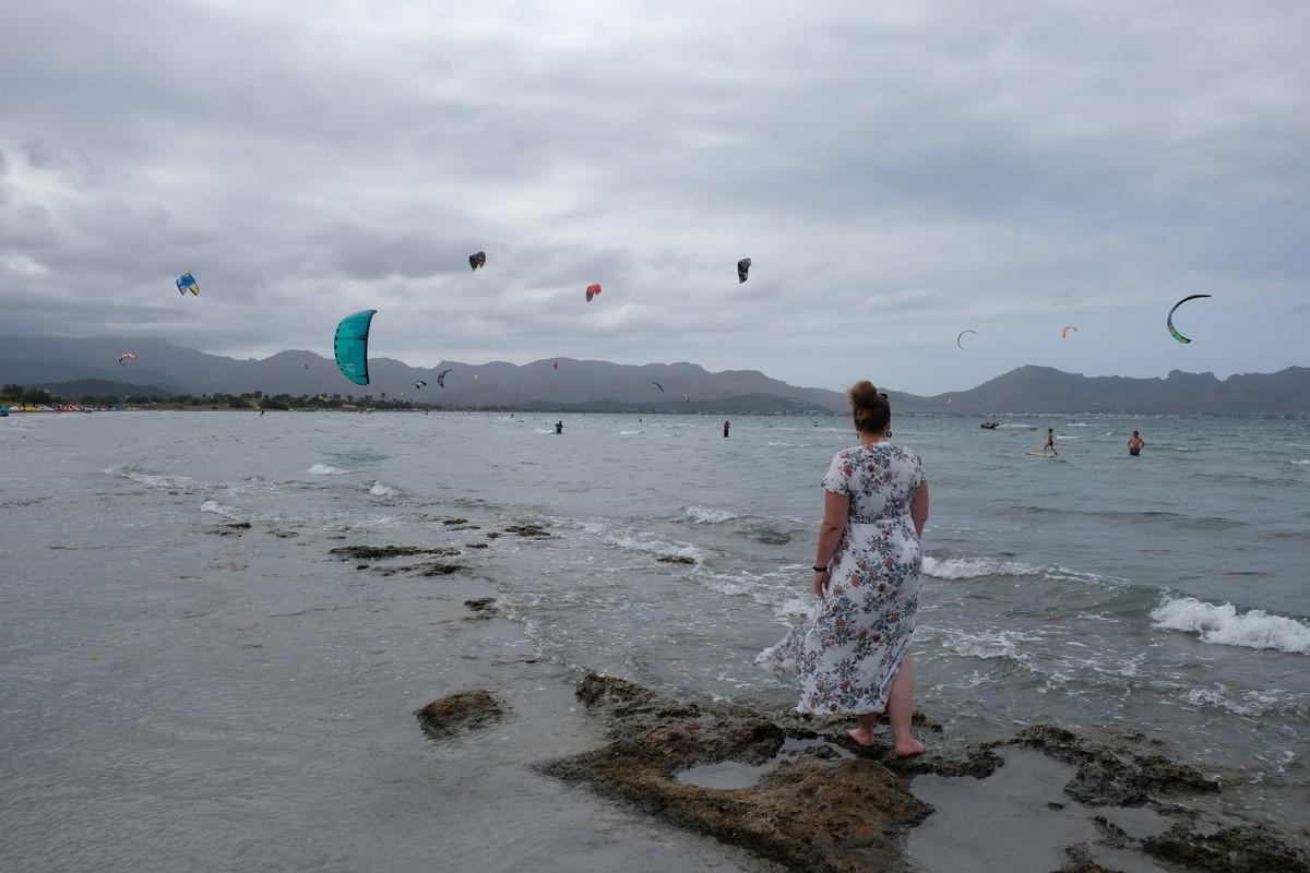 Alcúdia - kitesurfing