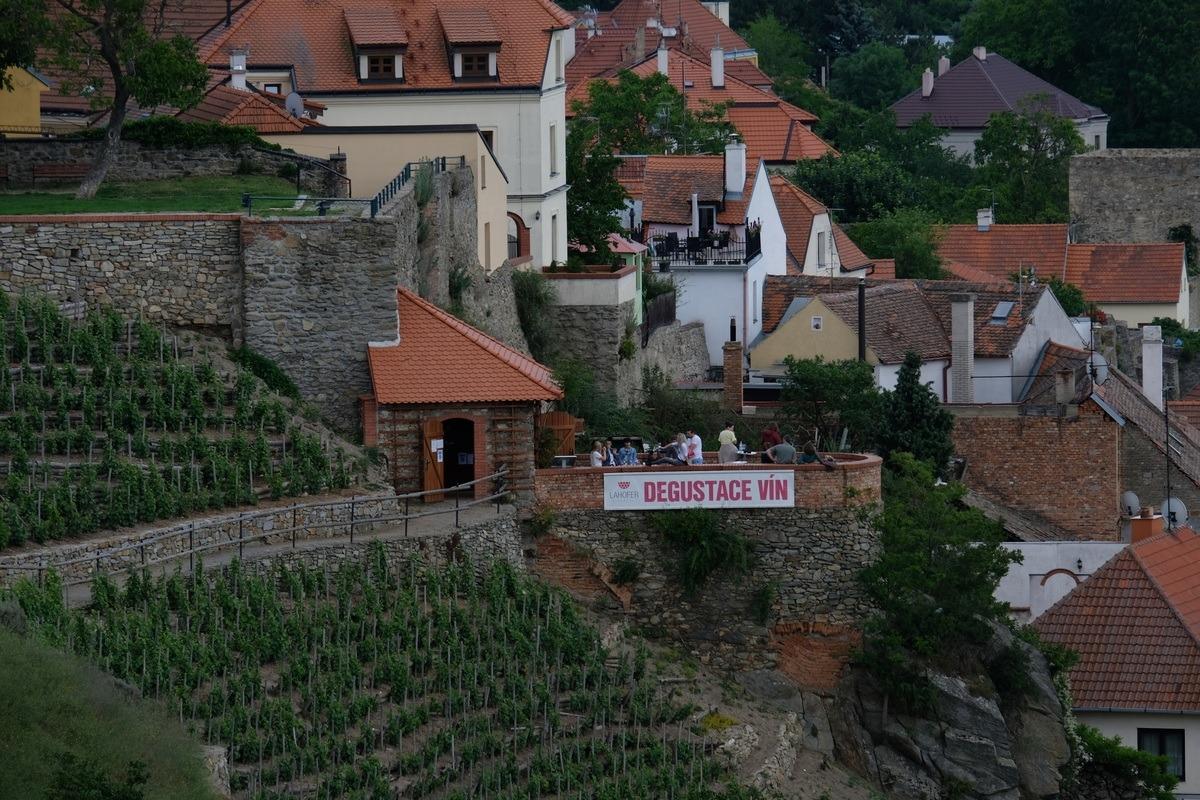 Rajská vinice, degustační altán Lahofer